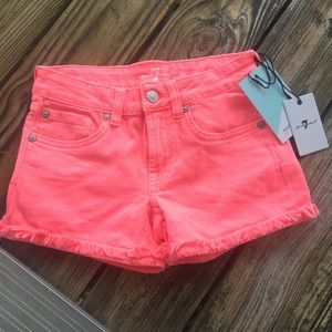 😍3/$40😍 7FAMK Girls Shorts!